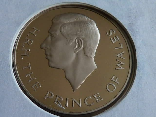 Prince of Wales 25th Anniversary medallic cover